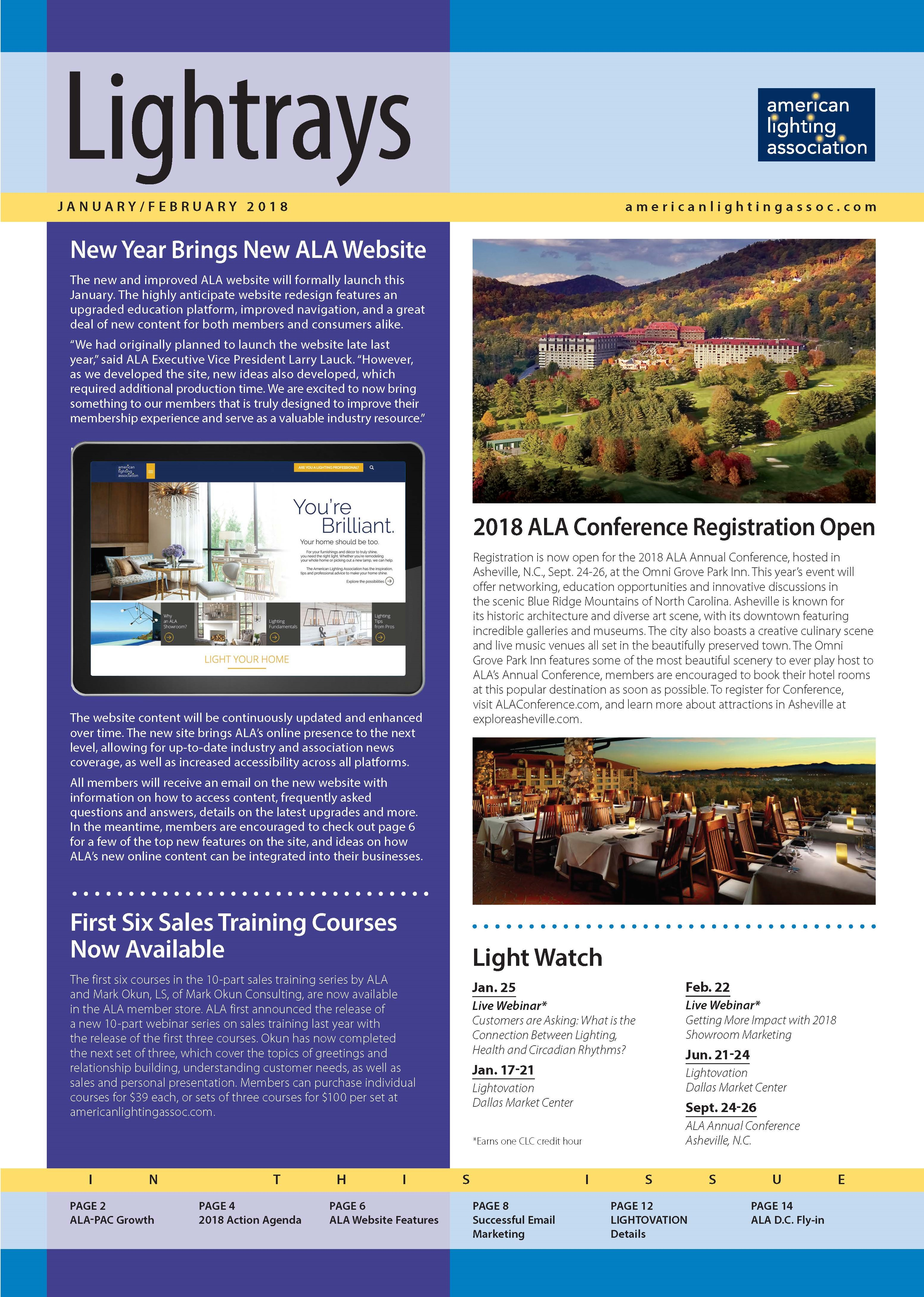 View Past Issues  sc 1 st  American Lighting Association & American Lighting Association - Lighting Professionals u003e More ...